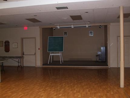 Rosedale Room Stage